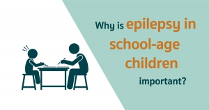 Why is epilepsy in school-age children