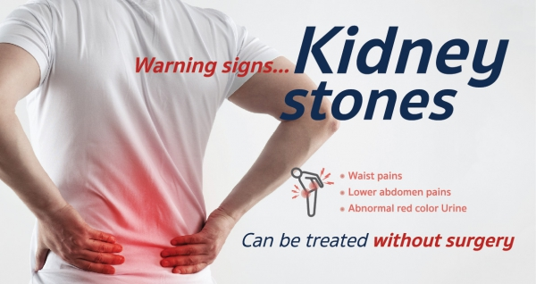Warning signs... Kidney stones