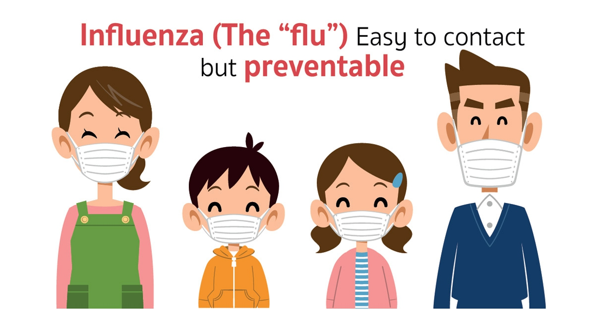 Immunize against influenza today!