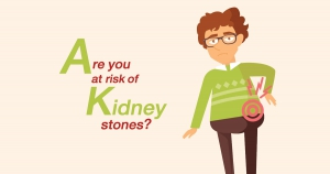 "Are you at risk of ""kidney stones?"