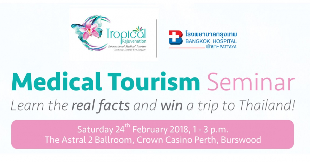 Medical Tourism Seminar in Perth